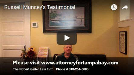 Russell Muncey's Testimonial