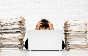 Bankruptcy And Organizing Paperwork Tampa, Florida.