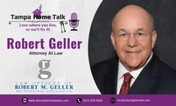 Robert M Geller Certified Bankruptcy Attorney Tampa, Florida.