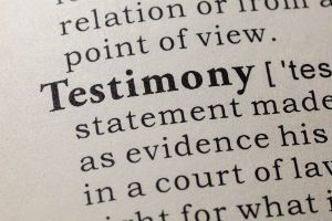 Testifying At Your Bankruptcy Hearing Tampa, St Petersburg, and Pasco, Florida.