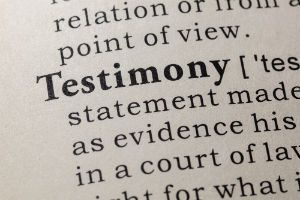 Tips For Testifying At Your Bankruptcy Hearing In Tampa, Florida.